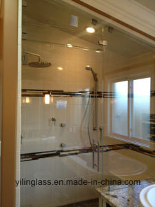 Tempered Low Iron Glass for Bathroom Screen pictures & photos