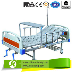 Manual Hospital Bed 2 Functions (CE/FDA) pictures & photos