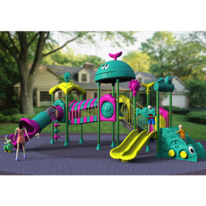 Outdoor Playground--Small Earth Guard Seriess, Children Outdoor Slide (XYH-MH021) pictures & photos