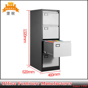 Vertical Design 4 Layers Steel Filing Cabinet pictures & photos