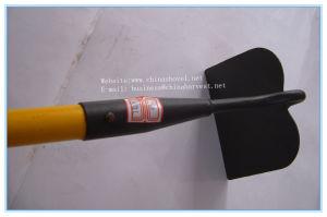 Garden Hoe Steel Hoe with Fiberglass Wooden Handle pictures & photos