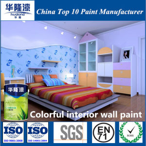 Hualong Colorful Interior Wall Emulsion Paint pictures & photos