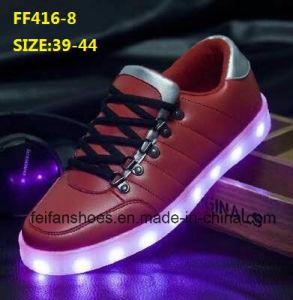 Latest Men Fashion LED Light Shoes Leisure Sport Shoes (FF416-8) pictures & photos