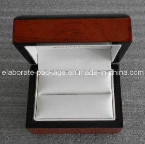 Small Wood Box Jewelry Box Gift Packaging Box Black Edge pictures & photos
