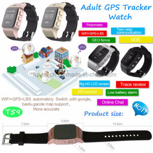 Anti-Dropoff Alarm Elderly GPS Tracker Watch with Sos Button and Geo-Fence T59 pictures & photos