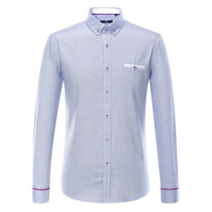 Mens Fashion Long Sleeve Guayabera Shirt pictures & photos