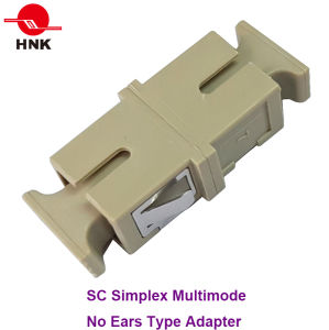 Sc Simplex Multimode No Ears Type Fiber Optic Adapter pictures & photos