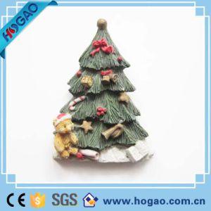 Christmas Decoration Resin Fridge Magnet Christmas Tree pictures & photos