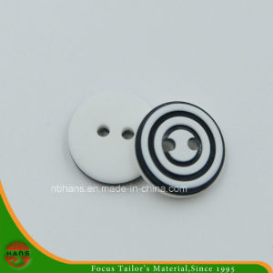 2 Holes New Design Polyester Shirt Button (S-124) pictures & photos