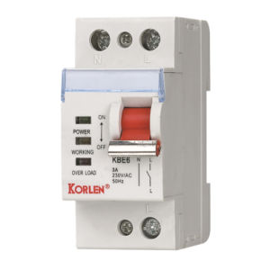 Supply High Quality Over-Load Protector Circuit Breaker (KBE6) pictures & photos