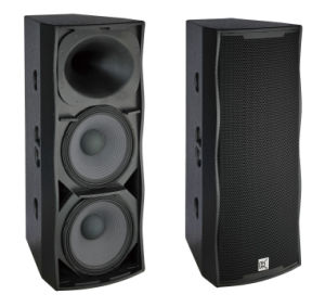 Dual 15 Inch Speaker China Factory Manufacturer pictures & photos