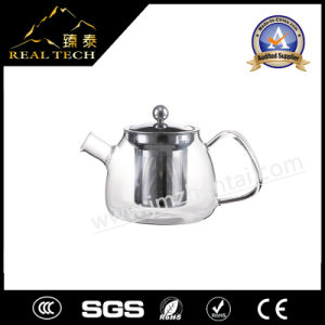 New Premium Borosilicate Glass Teapots pictures & photos