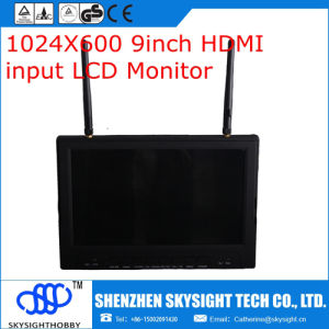 2016 New Product 9 Inch HDMI Monitor with Sunshade Cover RC900