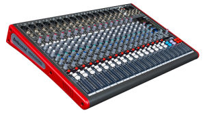 16 Channels Red Colour 35W Audio Mixer pictures & photos