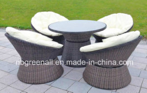 Outdoor Rattan/Wicker Comfirtable Coffee Set Garden Furniture pictures & photos