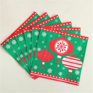 Disposable Colorful Printing Paper Serviette for christmas pictures & photos