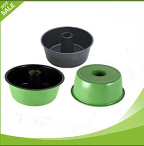 Colorful Round Shape Carbon Steel Cake Mold Pan