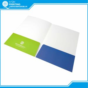 Printing Full Color Paper Presentation Folder pictures & photos