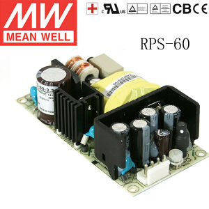Meanwell Power Supply Single Output Medical Type Rps-60-3.3/5/12/15/24/48
