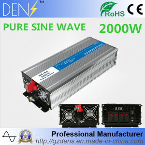 2000W Adapter Converter USB DC 12V to AC 220V Pure Sine Wave Power Inverter for Home Appliances pictures & photos