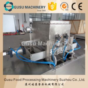 Ce Certified Snack Food Commercial Chocolate Chip Depositing Machine pictures & photos