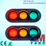 Ce & RoHS Approved Good Quality Full Ball LED Traffic Light / Semaphore Light pictures & photos