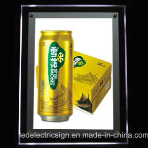 LED Crystal Advertising Display Board pictures & photos