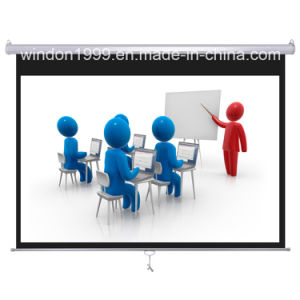 Manual Projector Screen with Factory Price pictures & photos
