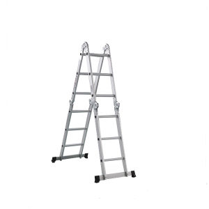 12 Steps Aluminum Ladder with Small Joints pictures & photos