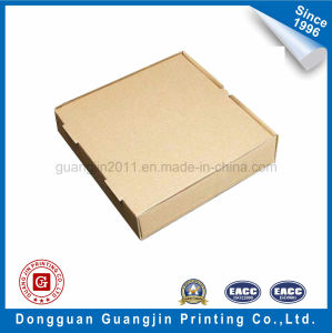 Cheap Plain Brown Kraft Paper Corrugated Pizza Box pictures & photos
