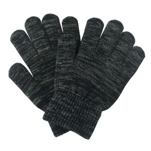 Fashion Silver Fiber Knitted Winter Touch Screen Magic Gloves (YKY5465) pictures & photos