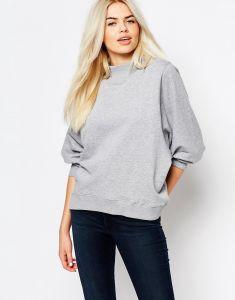 High Neck Plus Size Women Sweatshirt Hoodie pictures & photos