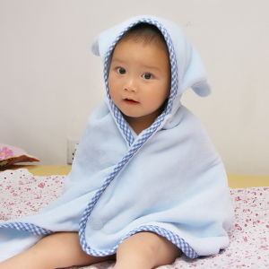 High Quality Kids Hooded Bath Towel Baby Baby Poncho pictures & photos