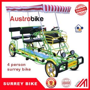 4 Wheel 5 Person Surrey Bike for Family Design in Austria pictures & photos