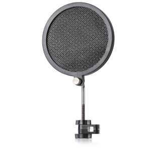 PS-2 Iron Mesh Pop Filter for Broadcasting / Recording / Karaoke Microphones Wind Screen