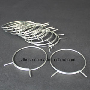 Clamps for Semi-Rigid Flexible Aluminum Duct pictures & photos