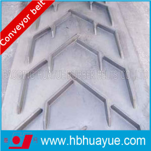 Special Shape Chevron Pattern Figured Rubber Conveyor Belt (EP NN CC) pictures & photos