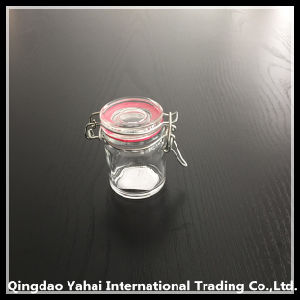 50ml Clip Lid Glass Storage Spicy Jar pictures & photos