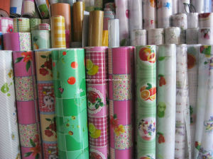 PVC Floor Tile with Rolls pictures & photos