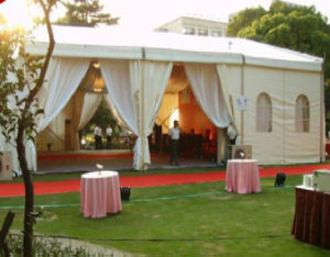 Upal Large Outdoor Canopy Aluminum Marquee Event Wedding Party Tent pictures & photos