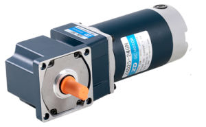 DC motor with gearbox, angle type, high torque pictures & photos