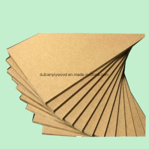 1220X2440X18mm White Color Melamine Laminated MDF for Making Furniture pictures & photos