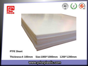 Fiberglass Fabric Filled Natural Color PTFE Sheet pictures & photos