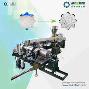 500-800kg/H Twin Screw Extruder for Silane Cross Linking Cable Material pictures & photos