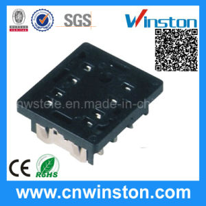 Miniature Black Color 8 Pins Timer Industrial Relay Socket with CE pictures & photos