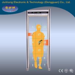 Electronic Door Type Metal Detector Gate With18 Detecting Zones pictures & photos