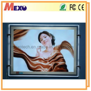 Indoor Ultra Thin Wall Mounted LED Advertising Display pictures & photos