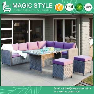 New Design Wicker Sofa Rattan Sofa Outdoor Furniture Patio Furniture Garden Sofa Set Combination Sofa pictures & photos