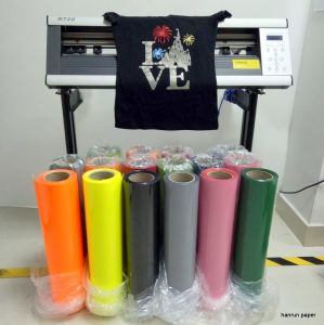 Vivid Color Heat Transfer Film Transfer Paper Width 50 Cm Length 25 M for All Fabric