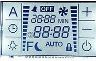 Custom LCD Display for Temperature Panel pictures & photos